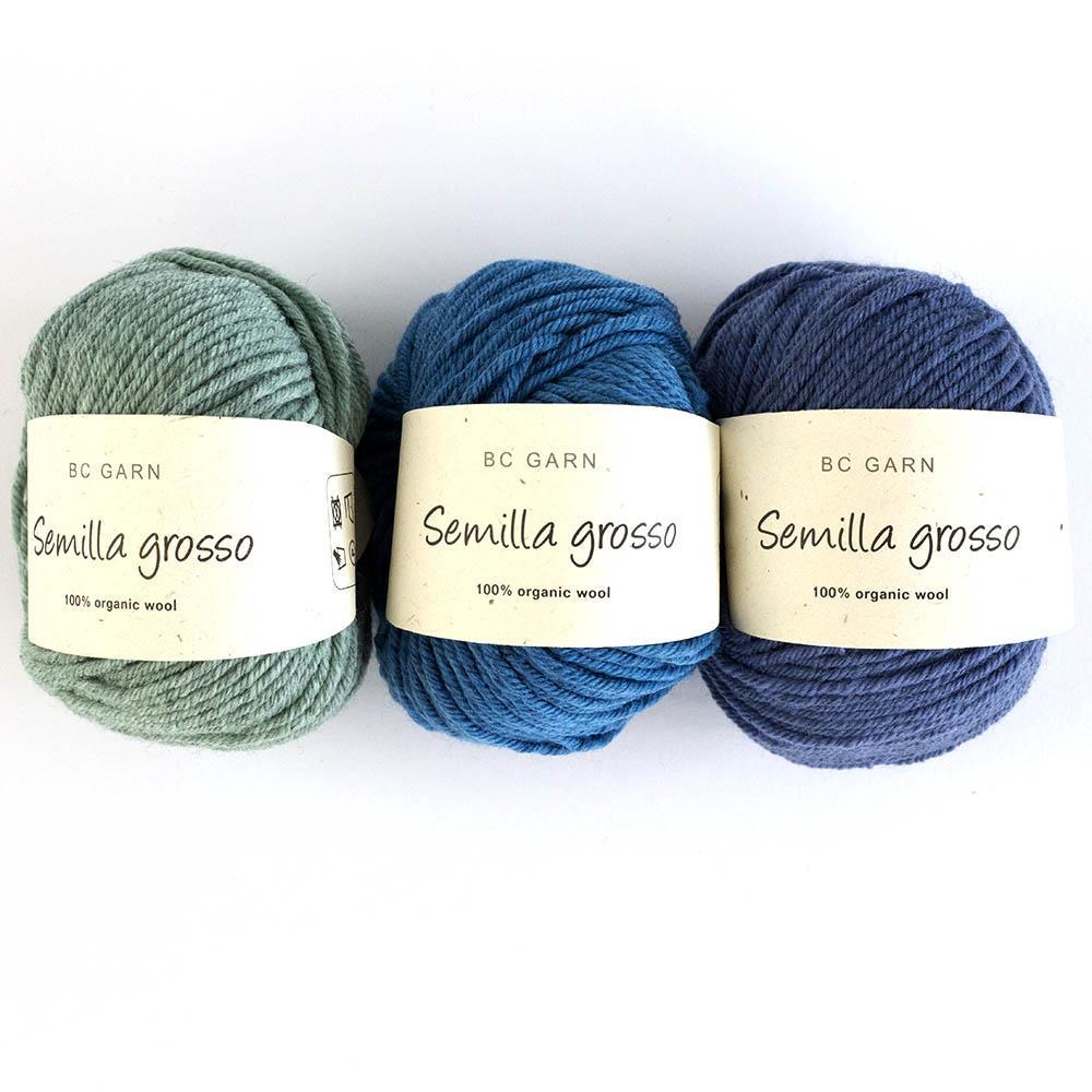 BC Garn Semilla Grosso  weiß