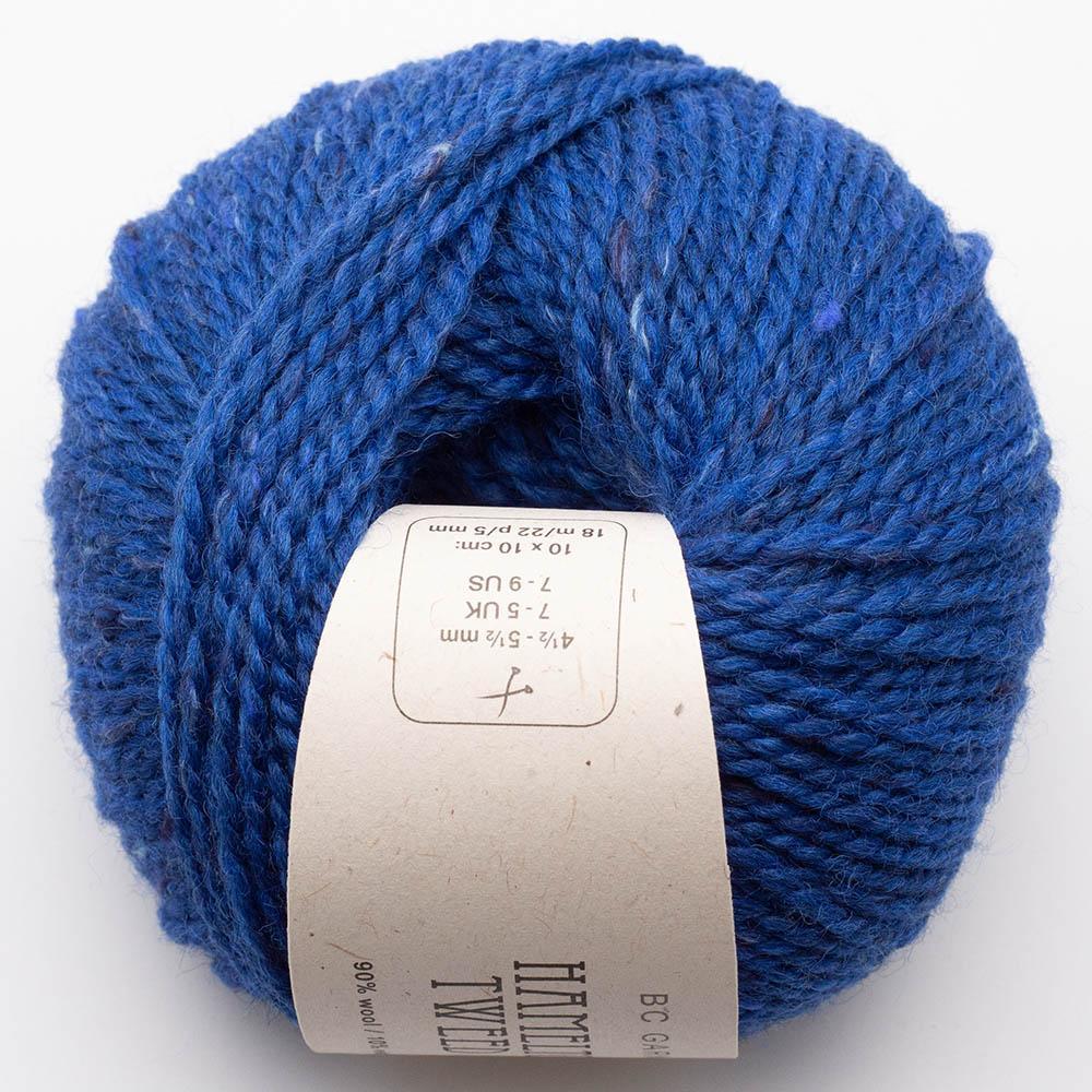 BC Garn Hamelton Tweed 1 royal blue