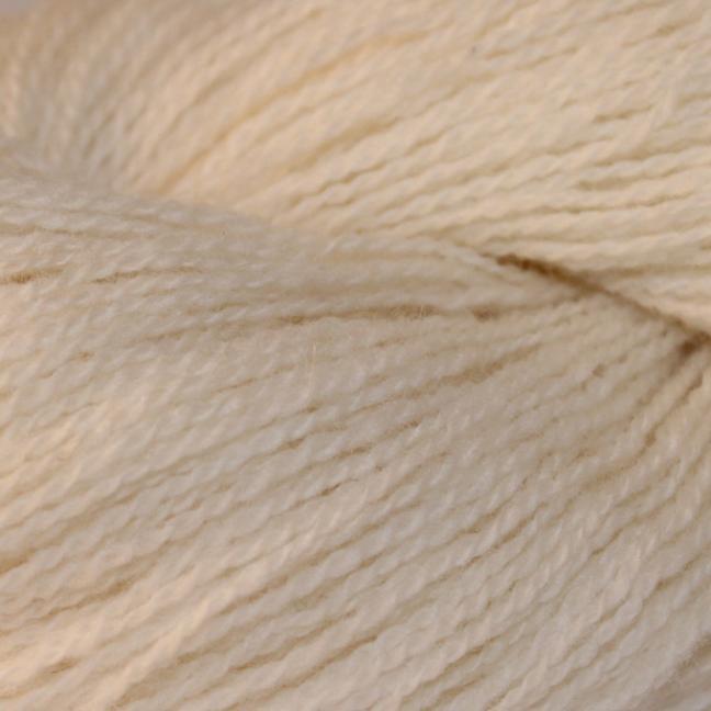 Karen Noe Design Shetlands Uld Weiß