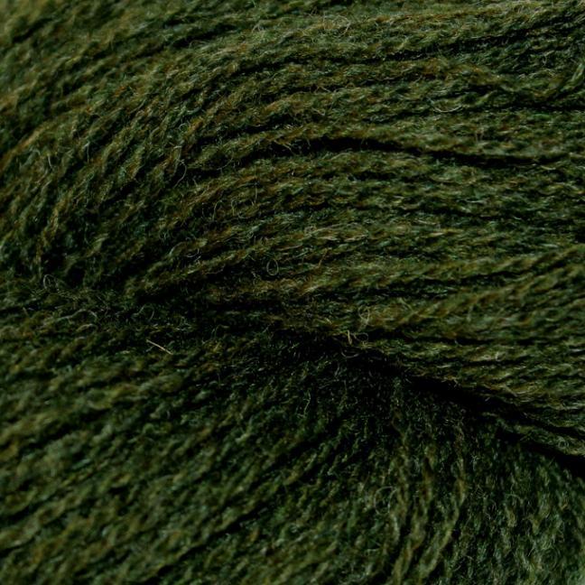 Karen Noe Design Shetlands Uld Immergrün
