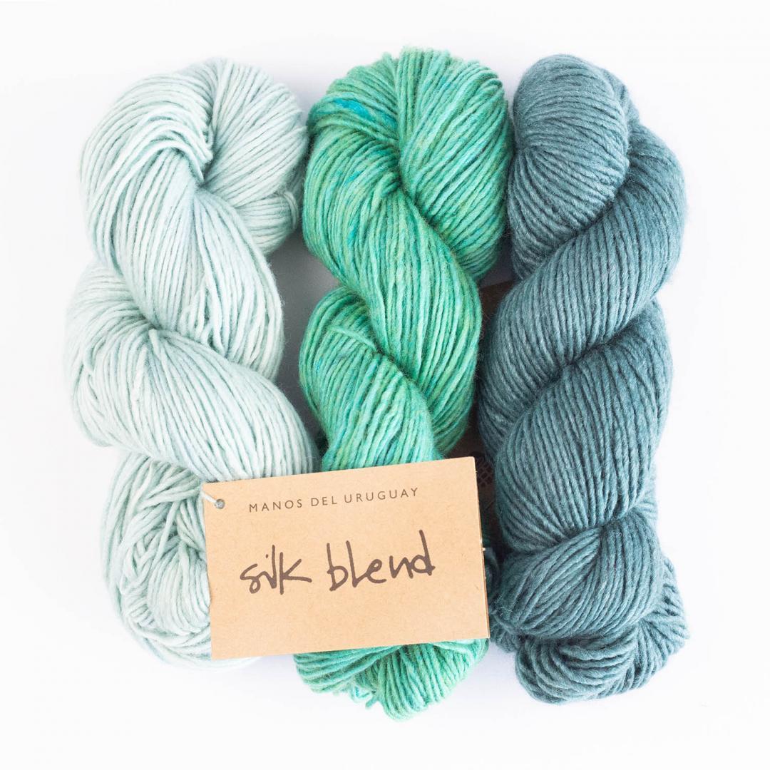 Manos del Uruguay Silk Blend - ensfarvet