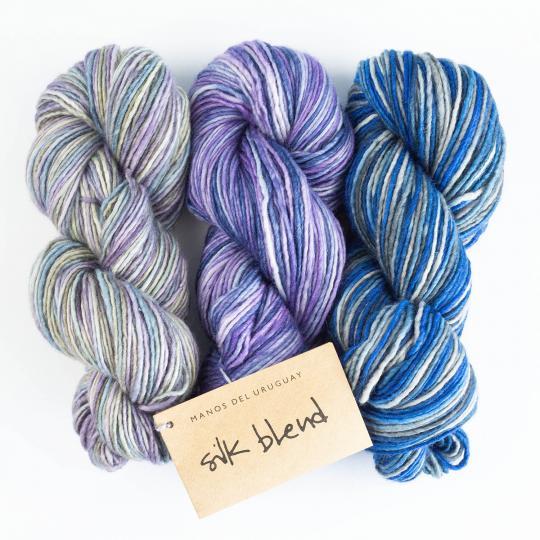 Manos del Uruguay Silk Blend - meleret