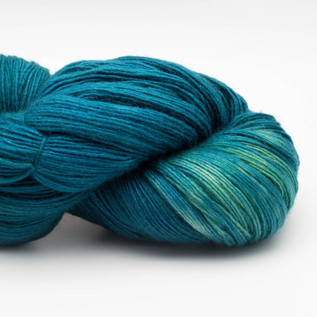 Manos del Uruguay Silk Blend fino handgefärbt (100g) PeacockP405