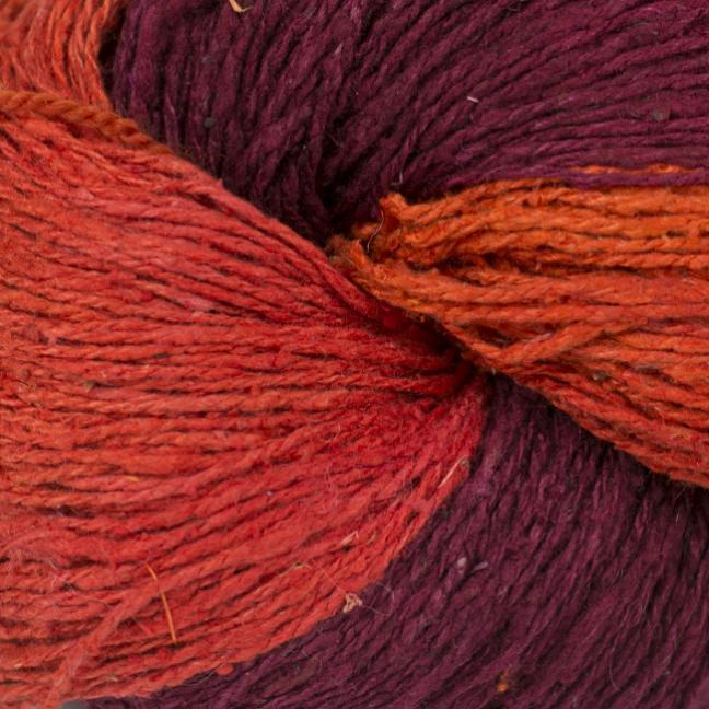 BC Garn Soft Silk handpaint red-house-mix