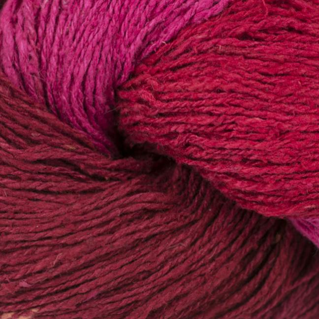 BC Garn Soft Silk handpaint bordeaux-pink-mix