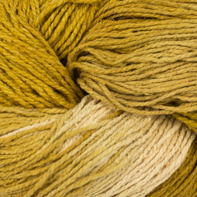 BC Garn Soft Silk handpaint yellow-natur-mix