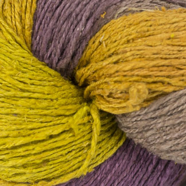 BC Garn Soft Silk handpaint  yellow-fantasie-mix