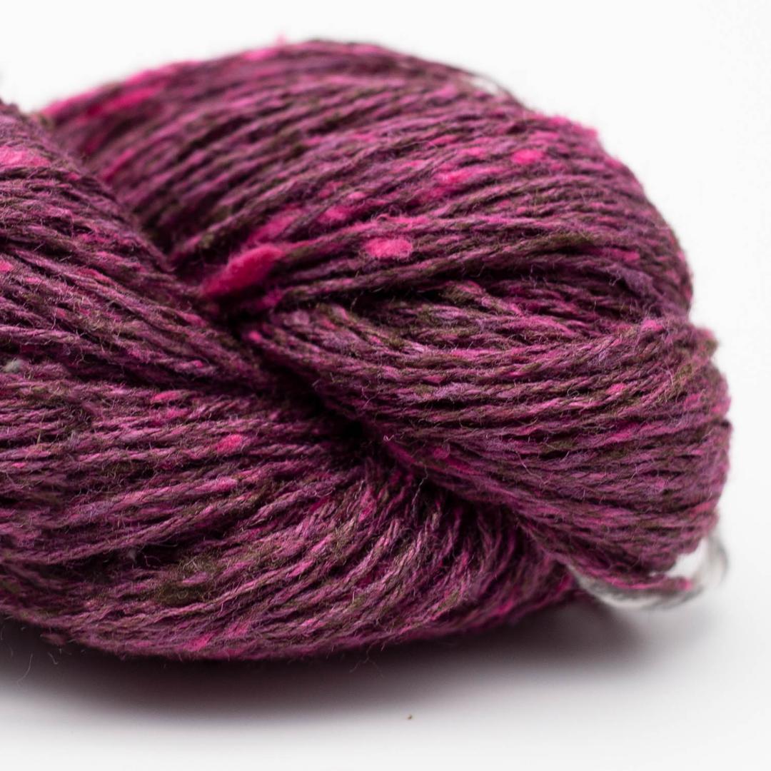 BC Garn Tussah Tweed bordeaux