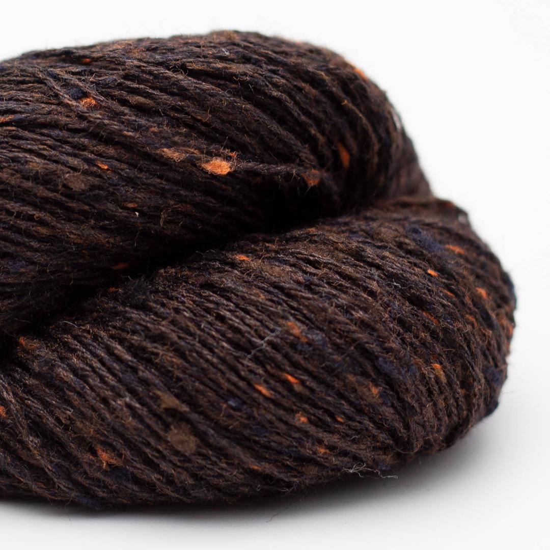 BC Garn Tussah Tweed black brown