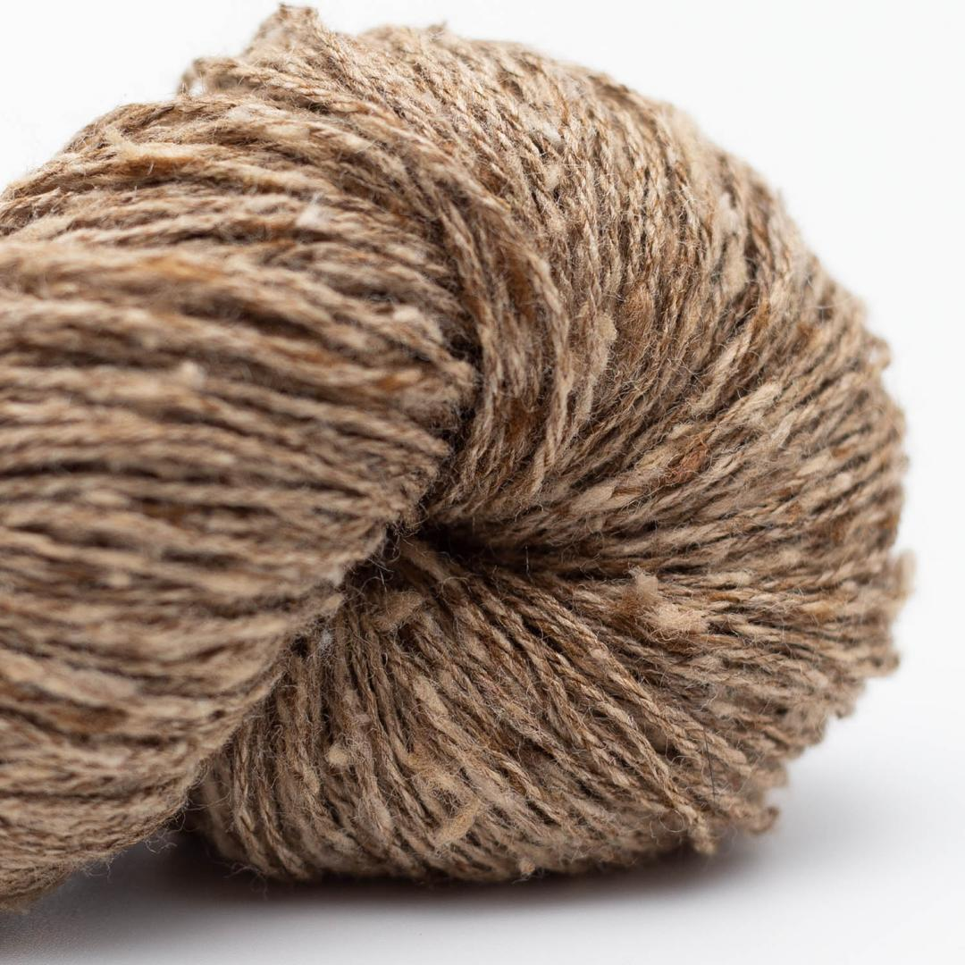 BC Garn Tussah Tweed grey-brown-mix