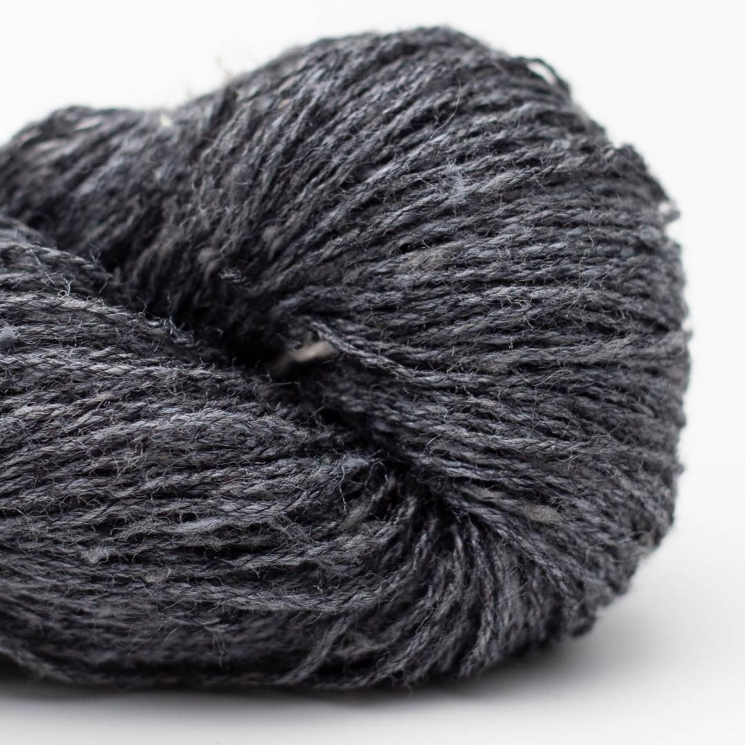 BC Garn Tussah Tweed dark-bluegrey-mix
