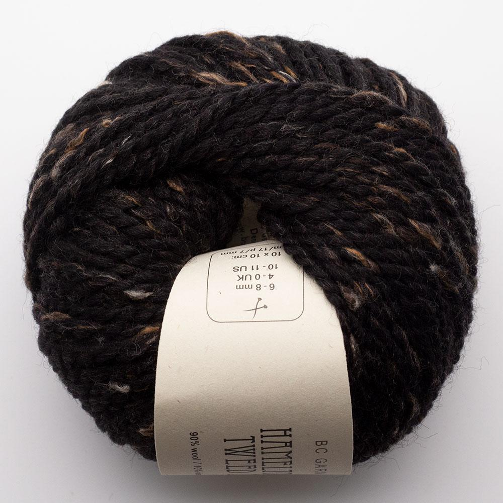 BC Garn Hamelton Tweed 2 brownish black