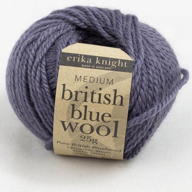 Erika Knight British Blue Wool 25g French