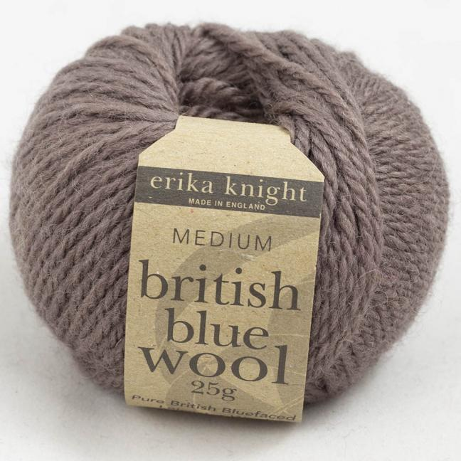 Erika Knight British Blue Wool 25g Milk Chocolate