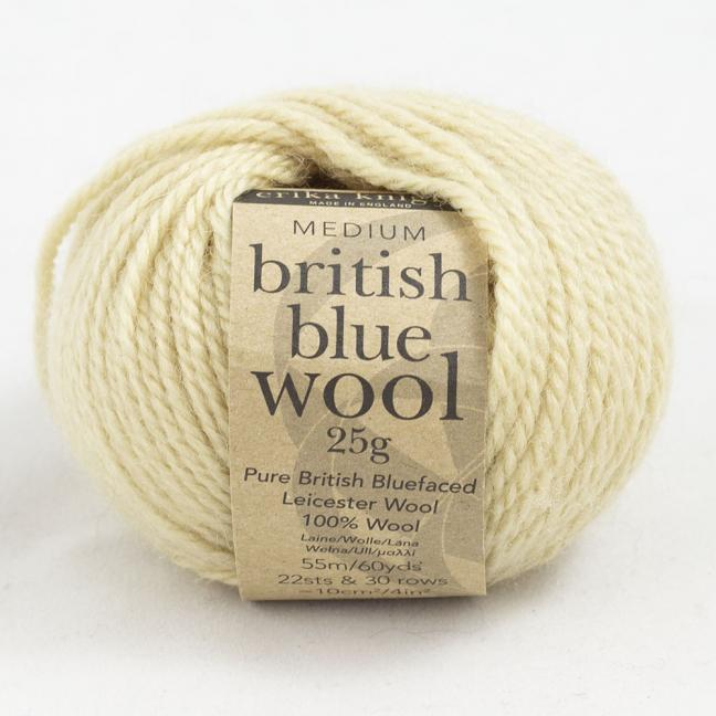 Erika Knight British Blue Wool 25g Gift
