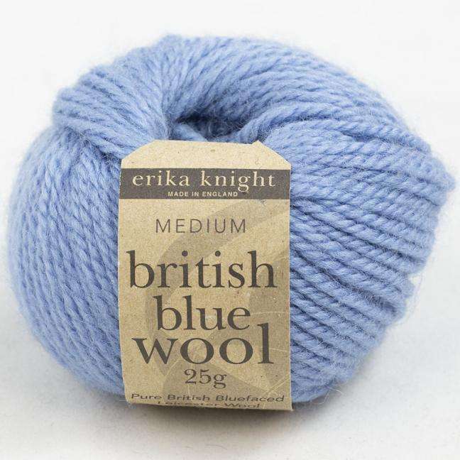 Erika Knight British Blue Wool 25g Steve