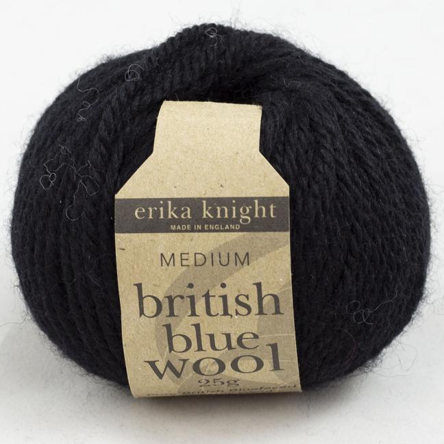Erika Knight British Blue Wool 25g Pitch