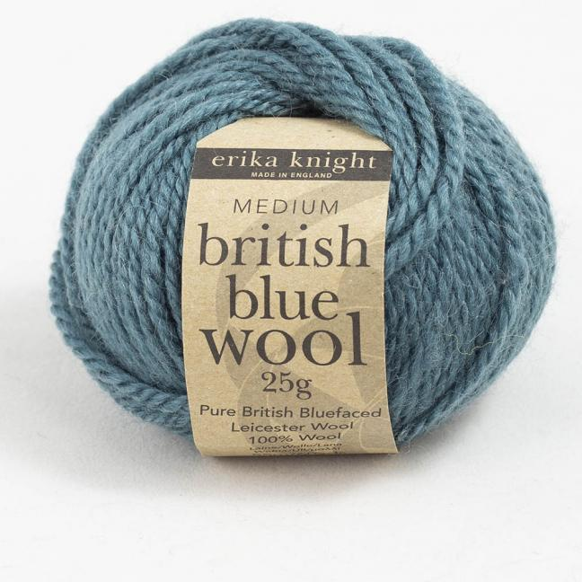 Erika Knight British Blue Wool 25g Mr Bhasin