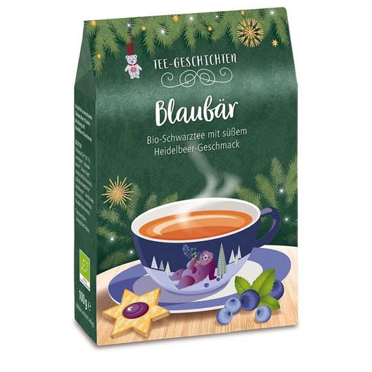 Kremke Bio Tee Blaubär