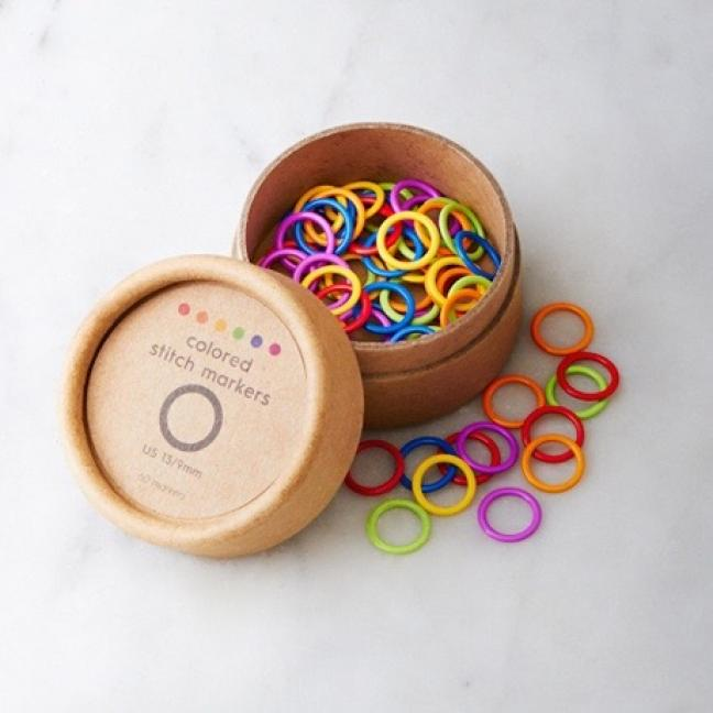CocoKnits Colored Ring Stitch Marker