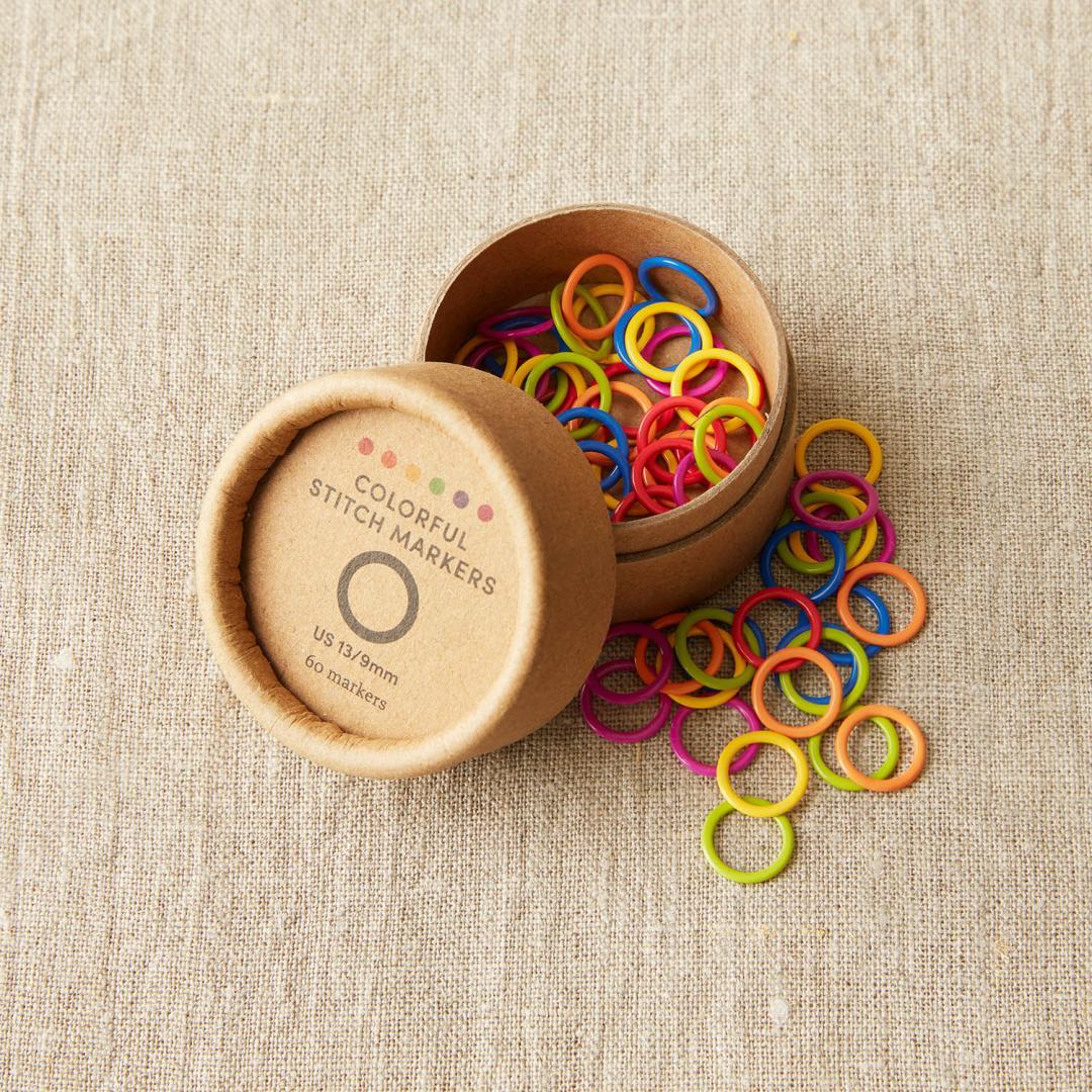 CocoKnits Farverige maskemarkører i 2 størrelser