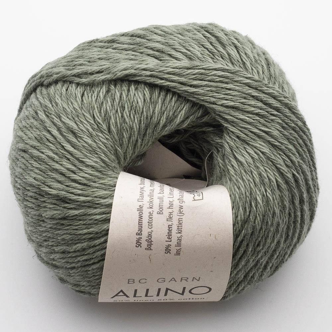 BC Garn Allino olivgrün