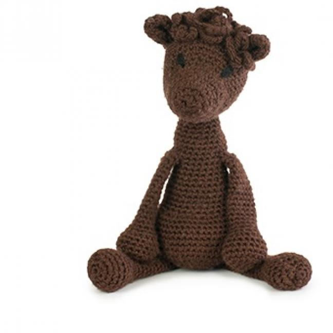 TOFT Edwards Menagerie Materialpakete Seamus Alpaca