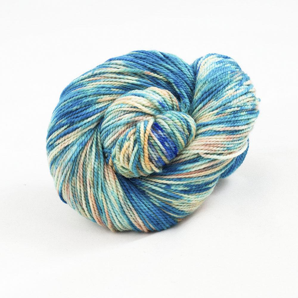 Cowgirl Blues Merino Twist Flerfarvet Shorebreak
