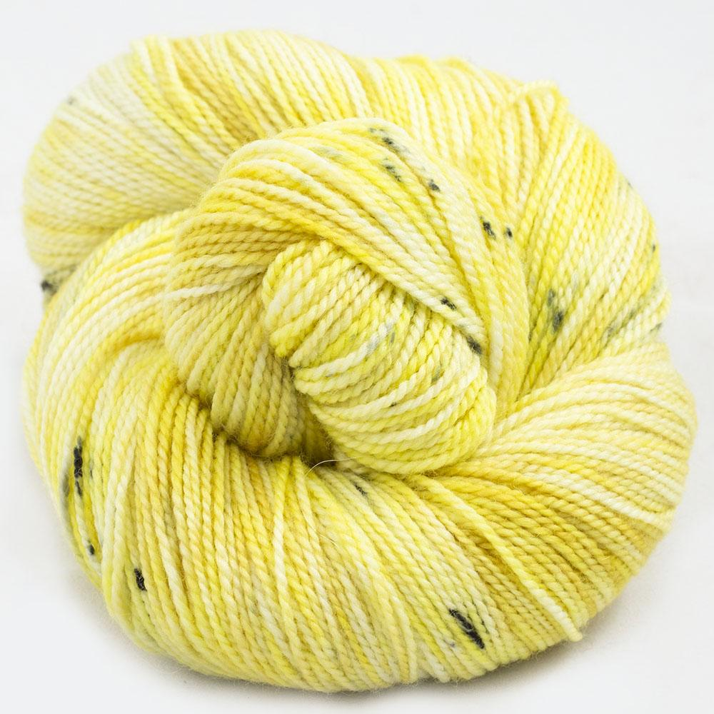 Cowgirl Blues Merino Twist Flerfarvet Limoncello
