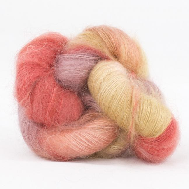 Cowgirl Blues Kid Silk Flerfarvet RubygrapeCoralCaramelFadedrose