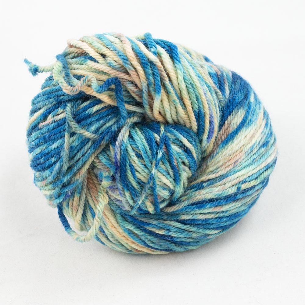 Cowgirl Blues Merino DK Flerfarvet 100g Shorebreak
