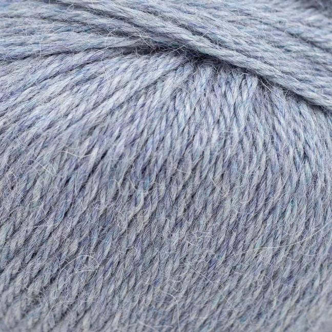 Kremke Soul Wool Baby Alpaca  Light Blue Heather