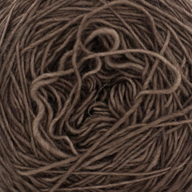 Cowgirl Blues Single Lace Merino Coffee Bean