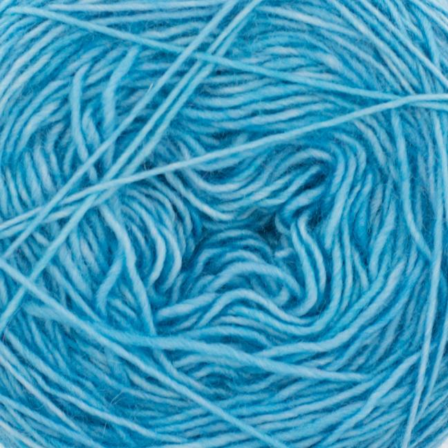 Cowgirl Blues Single Lace Merino Seagrass