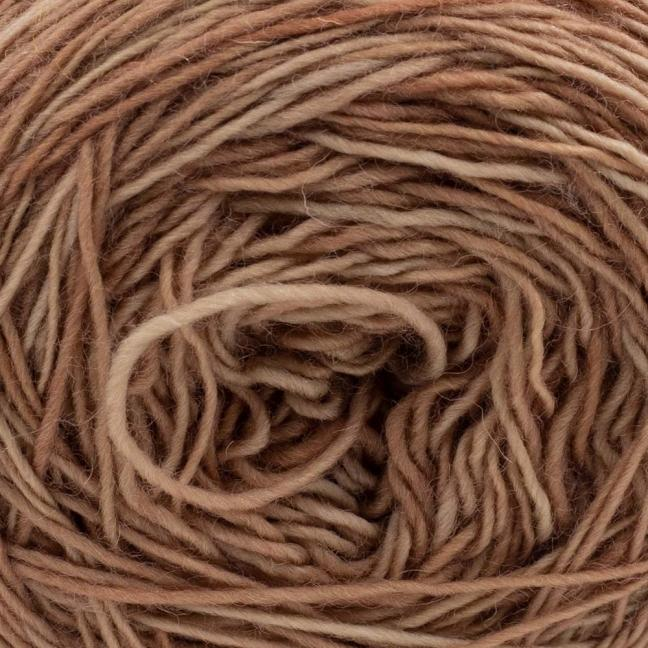 Cowgirl Blues Single Lace Merino Camel