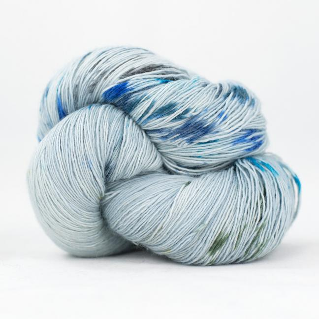 Cowgirl Blues Merino Single Lace Flerfarvet  Ocean Drive
