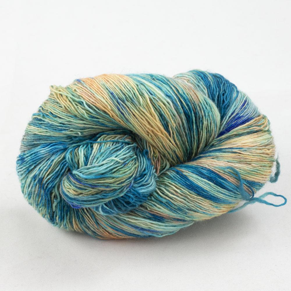 Cowgirl Blues Merino Single Lace Flerfarvet  Shorebreak