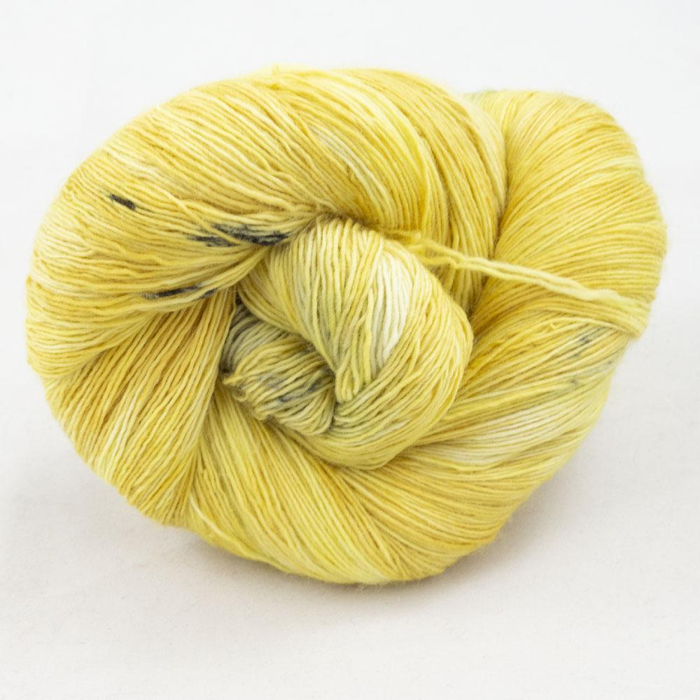 Cowgirl Blues Merino Single Lace Flerfarvet  Limoncello