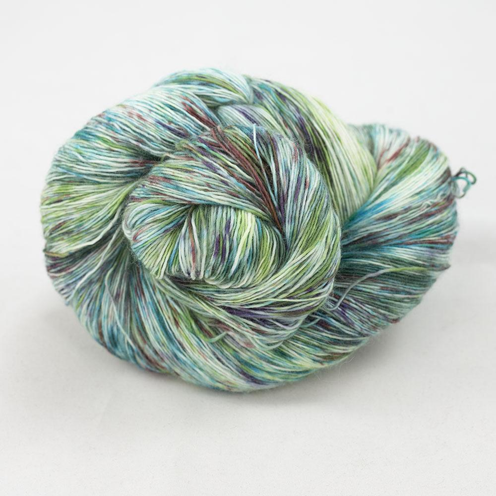 Cowgirl Blues Merino Single Lace Flerfarvet  Karma Chameleon